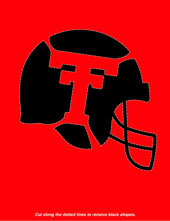 coloring pages texas tech football - photo#31