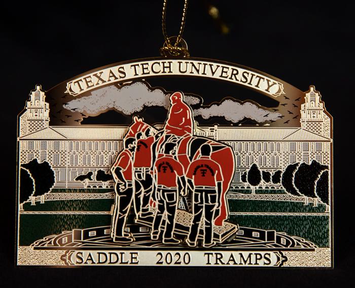 2020 Texas Tech Christmas Ornament Texas Tech Alumni Association   Texas Tech Ornament